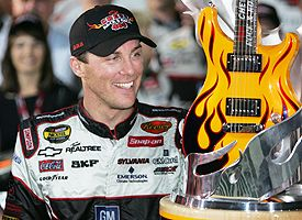 Harvick 2006 Chevy Rock & Roll 400 - Guitar Trophy