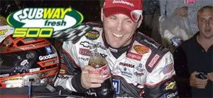 Harvick Phoenix Subway fresh 500