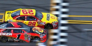 harvick 2010 Aaron's 499 finish